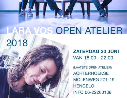 30 Juni – Open Atelier Lara Vos